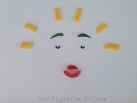 positivity food face