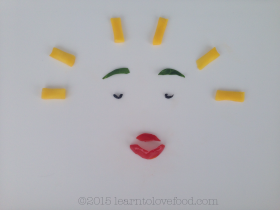 positivity food face