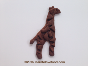 gingerbread giraffe