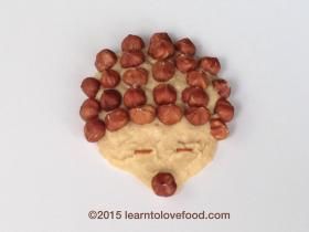 hummus hazelnut hedgehog