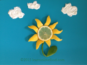 lemon lime flower Focus On What's Right Today
