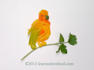 Pepper and Parsley Parrot
