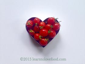 tomato heart love