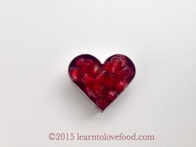 pommegranate heart