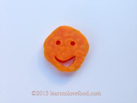 sweet potato smiley face