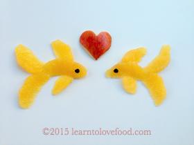 citrus goldfish apple heart blackberry eyes